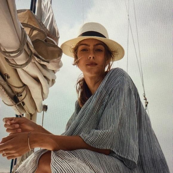 a198c994e Halogen Straw Panama Hat NWT Boutique